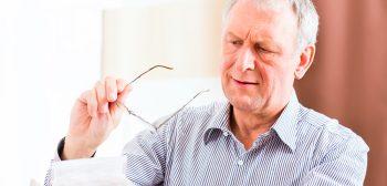 Symptomen van presbyopie (ouderdomsverziendheid)